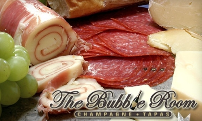 The Bubble Room - Far North Central: $15 for $30 Worth of Tapas and Desserts at The Bubble Room