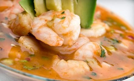 $25 Groupon to La Playa Mexican Grill - La Playa Mexican Grill in Port Aransas