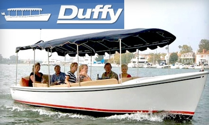 Duffy Electric Boat Company - South Fort Lauderdale: $75 for a Two-Hour Boat Rental for Up to 12 Passengers with Duffy Electric Boat Company ($155 Value)