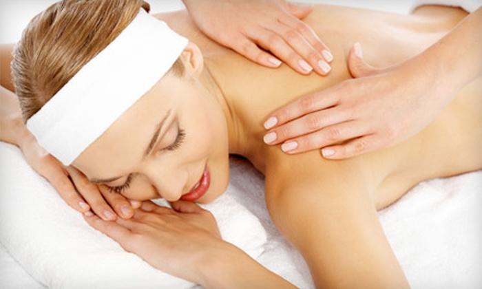 Synergistic Health - Three Corners: Custom Massages at Synergistic Health (Up to 56% Off). Three Options Available.