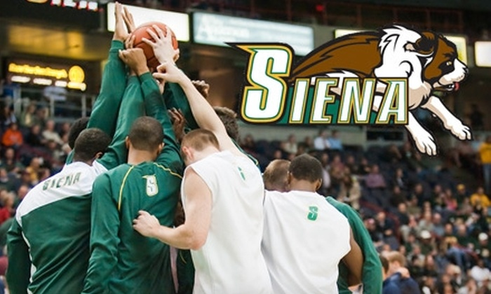 Siena Saints - Albany / Capital Region: Basketball Tickets to the Siena Saints vs. the St. Peter's Peacocks. Two Options Available.