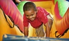 Mighty Jumps - Buckhead: One-Month Unlimited Jump Pass or a Birthday Party for Eight Kids at Mighty Jumps Party and Play Center (Up to 60% Off)