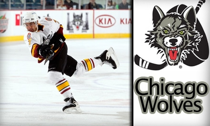 Chicago Wolves - Rosemont: $9 for a 200-Level Chicago Wolves Ticket ($19 Value). Buy Here for Sunday, March 28, at 3 p.m. vs. Texas Stars. See Below for Additional Games.