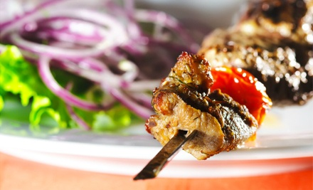 Moroccan Cuisine for 2 People (a $53 value) - Marrakech Lounge in Washington