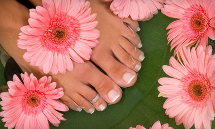 Posh Salon and Spa Atlanta - Newnan: One or Three Classic or Deluxe Posh Mani-Pedis at Posh Salon and Spa in Newnan (Up to 67% Off)