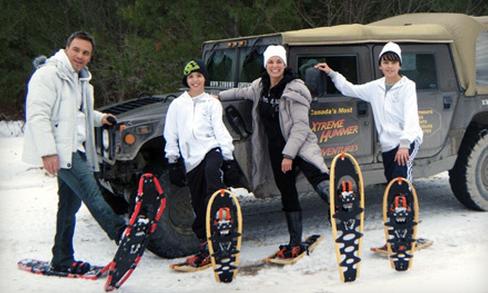 Xtreme Adventures - Blue Mountains: $29 for a Hummer Snowshoe Adventure on Blue Mountain from Xtreme Adventures in Collingwood ($59 Value)