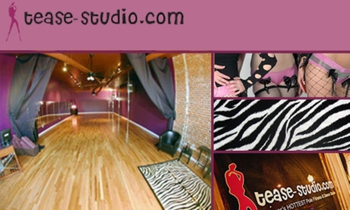 Tease-Studio - Washington Park West: $100 for Hour-Long Girls' Night Out Party for Eight at Tease Studio