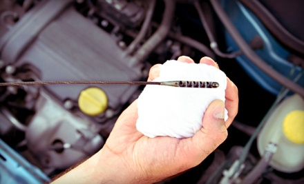 Oil-Change Package with 75-Point Courtesy Inspection (a $55 value) - United Auto Parts and Service in Trevose