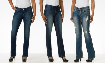 Seven7 Spring Bootcut Jeans. Multiple Styles Available. Free Returns.