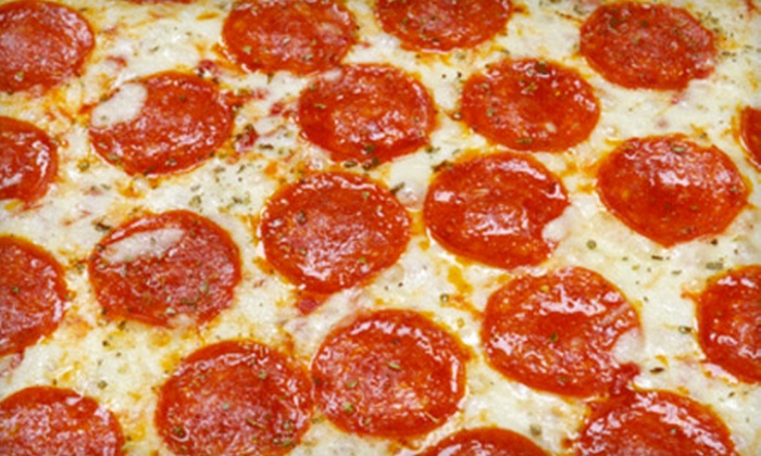 Sicilia Bakery - Jefferson Park: $15 for a Pizza and Wings Meal at Sicilia Bakery ($30.24 Value)