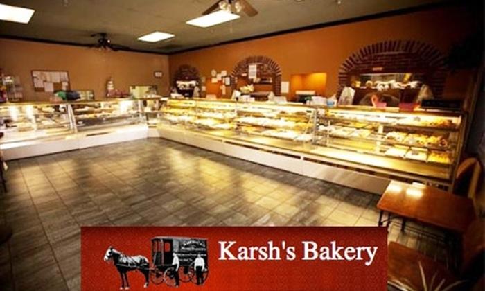 Karsh's Bakery - Alhambra: $10 for $20 Worth of Fresh-Baked Kosher Goods at Karsh's Bakery