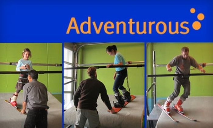 Adventurous Sports - Mission: $65 for Two Indoor Skiing or Snowboarding Lessons at Adventurous Sports ($145 Value)
