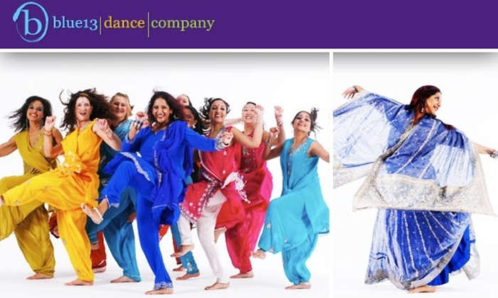 blue13 dance company - Hollywood: $13 for Two Bollywood or Bhangra Dance Classes ($26 Value)