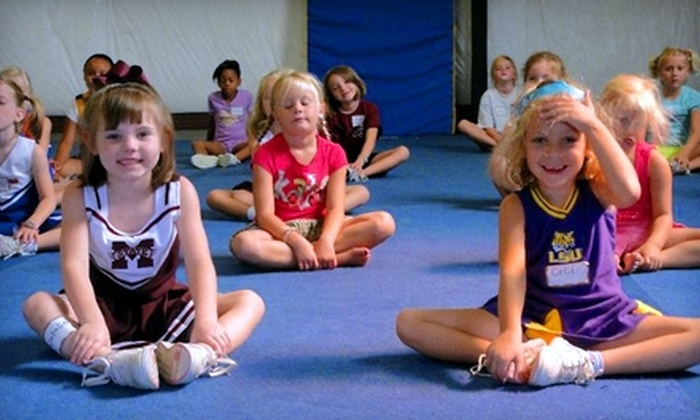 Premier Tumble and Cheer - Cypress Lake: Birthday Party or Classes at Premier Tumble and Cheer. Three Options Available.