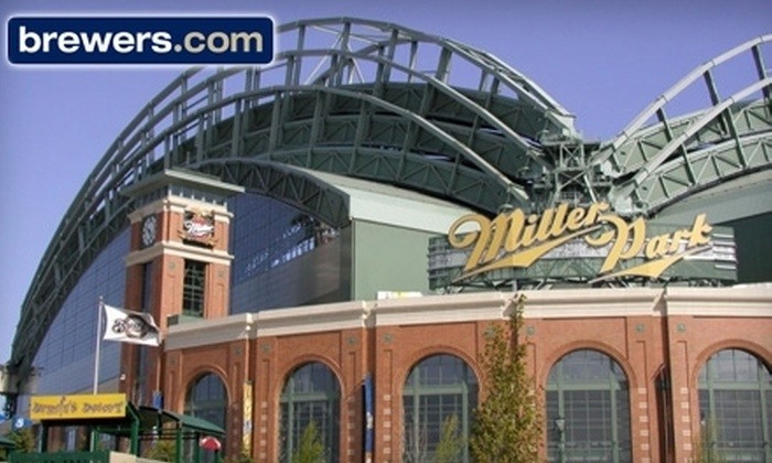 Milwaukee Brewers - Story Hill: Half Off Milwaukee Brewers Ticket. Eleven Options Available.