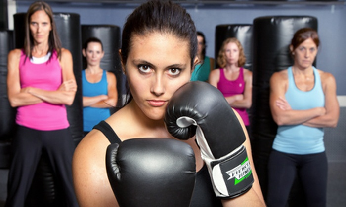 Fierce Fitness Kickboxing - Multnomah: Three Classes or One Month of Unlimited Classes at Fierce Fitness Kickboxing