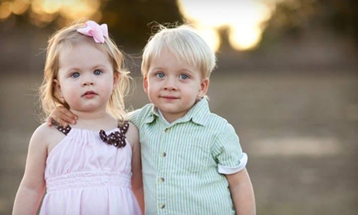 Blue Shoe Photography - Lakeland: $69 for a Portrait Session, Three Prints, Plus 30% Off Additional Prints from Blue Shoe Photography (Up to $448.69 Value)