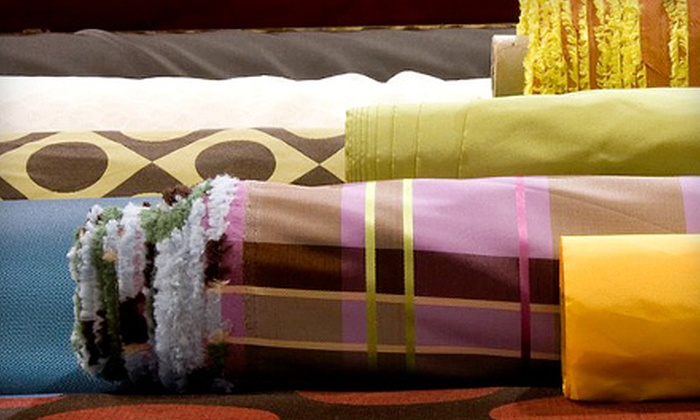 Fabric Warehouse: Fabric and Trim from Fabric Warehouse (Up to 60% Off). Two Options Available.