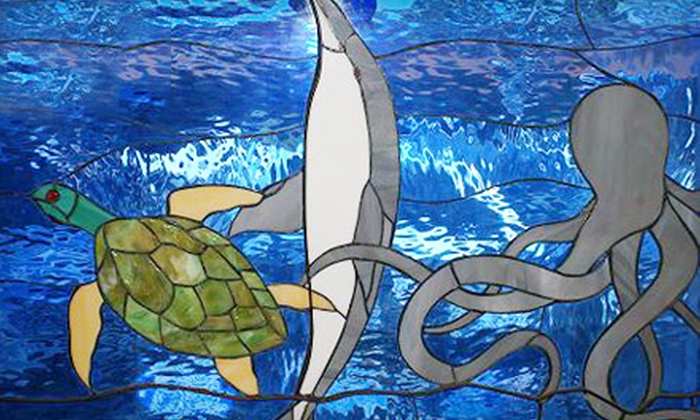 Ocean Stained Glass - Seal Beach: Beginning Glass-Jewelry-Fusing or Advanced Mosaic Class at Ocean Stained Glass in Seal Beach