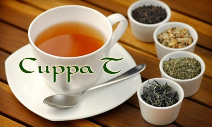 Cuppa T Specialty Teas - Cathedral: $10 for $20 Worth of Teas and Accessories at the Original Cuppa T Specialty Teas