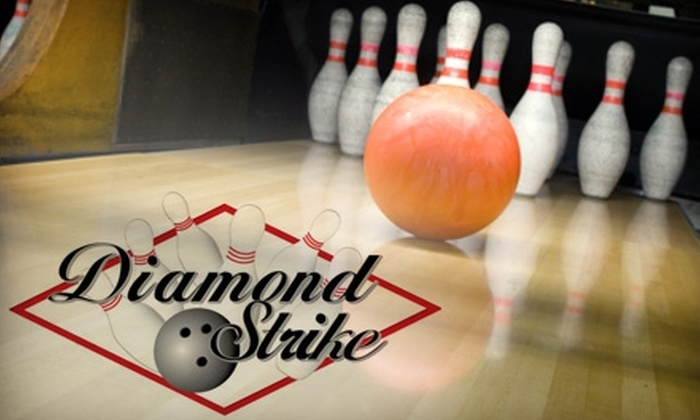 Diamond Strike Lanes & Sports Bar - Pompano Beach: $20 for Two Hours of Bowling for Up to Six People, Plus Shoe Rental and a Pitcher of Soda, at Diamond Strike Lanes & Sports Bar (Up to $50 Value)