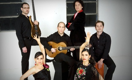 Chris Burton Jacome Flamenco Ensemble on Sun., Jan. 22 at 3PM: General Admission - Chris Burton Jacome Flamenco Ensemble in Lancaster