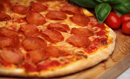 $16 Groupon to Fat Billy's Pizza - Fat Billys Pizza in Akron
