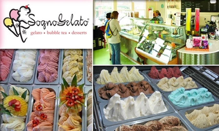 Sogno Gelato - Atlanta: $5 for $10 Worth of Gelato and More from Sogno Gelato