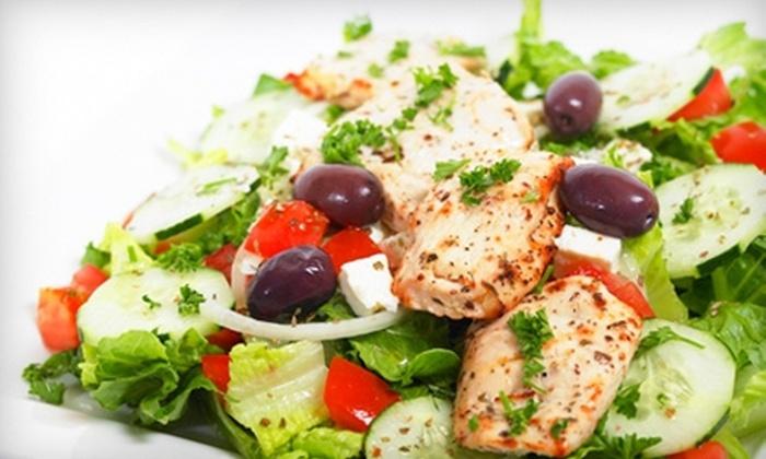 M Local Mediterranean Grill - Multiple Locations: $5 for $10 Worth of Mediterranean Fare at M Local Mediterranean Grill. Choose Between Two Locations.