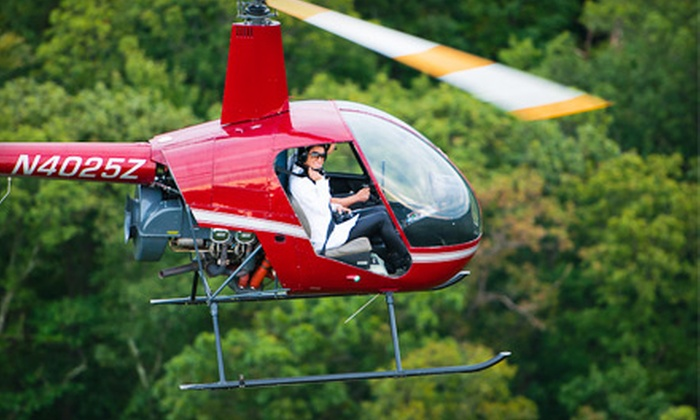 Heli Flights - Lincoln Park: $99 for a Private Helicopter Lesson From Heli Flights ($200 Value)