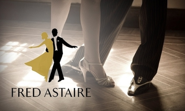 Fred Astaire Dance Studio  - Old Irving Park: $20 for Five Introductory Dance Lessons at Fred Astaire Dance Studio ($50 Value)