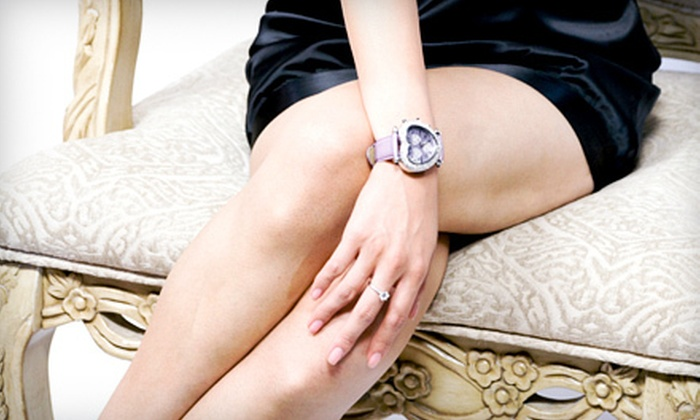 Clear Allergy Immunology Laser Center - Plano: $399 for Up to Five Laser Spider-Vein-Removal Sessions for  Legs at Clear Allergy Immunology Laser Center in Plano ($5,000 Value)
