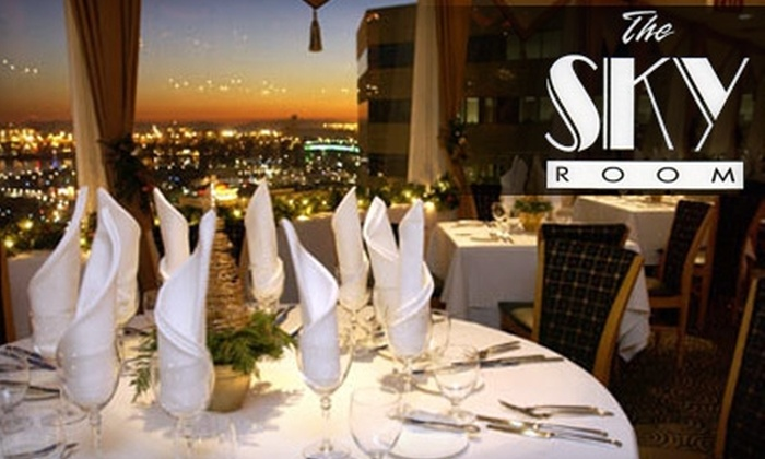 The Sky Room - Downtown Long Beach: $35 for $70 Worth of Contemporary American Fine Dining and Drinks at The Sky Room in Long Beach