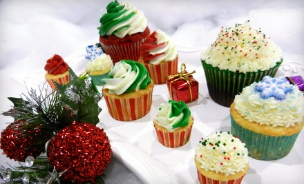 4 Dozen Gourmet Mini Cupcakes in 2 Flavors (up to a $40 value) - DreamScape Desserts in