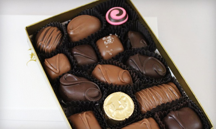 Lake Forest Confections - Clayton: $9 for an 8-ounce Classic Assortment Box of Chocolates at Lake Forest Confections ($19 Value)