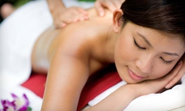 Infinity Day Spa - Crystal Lake: $45 for Aromatherapy or Deep-Tissue Massage at Infinity Day Spa in Crystal Lake ($90 Value)