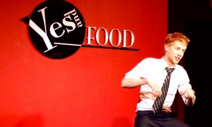 Yes And Food - Coon Rapids: $12 for $24 Worth of Italian and American Cuisine and Improvised Comedy Theater at Yes And Food in Coon Rapids