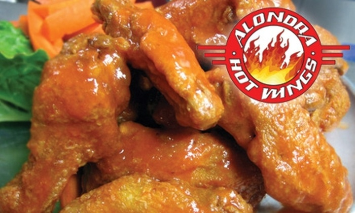 Alondra Hot Wings - Multiple Locations: $10 for $20 Worth of Wings, Sandwiches, Salads, and More at Alondra Hot Wings