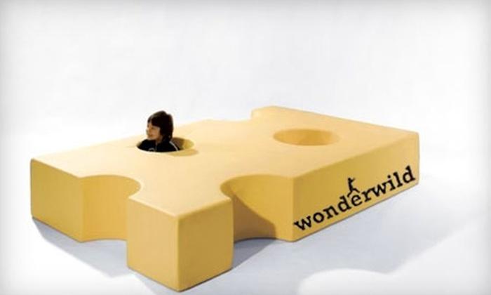 Wonderwild - Washington Ave./ Memorial Park: $25 for Five Drop-in Playground Passes to Wonderwild (Up to $50 Value)