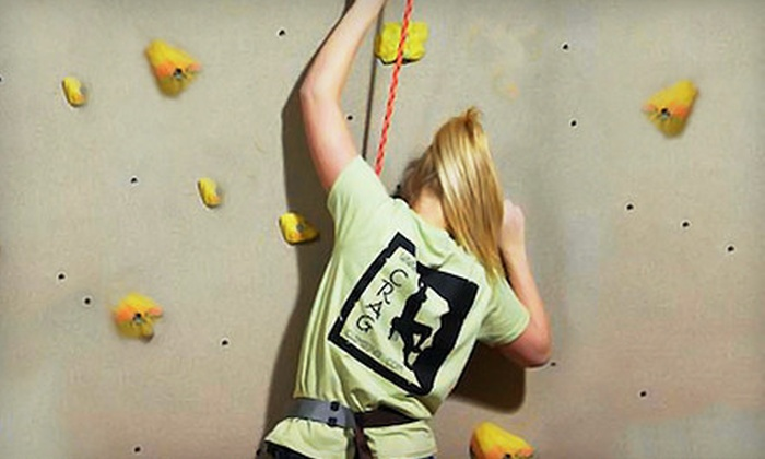 The Crag Indoor Rock Climbing Gym - Indianapolis: 5 or 10 All-Day Passes to The Crag Indoor Rock Climbing Gym (Up to 63% Off)