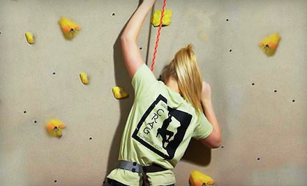 5 All-Day Passes (a $100 value) - The Crag Indoor Rock Climbing Gym in Brownsburg