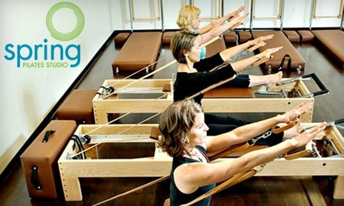 Spring Pilates Studio - Kerns: $65 for Two Private Pilates Lessons at Spring Pilates Studio ($130 Value)