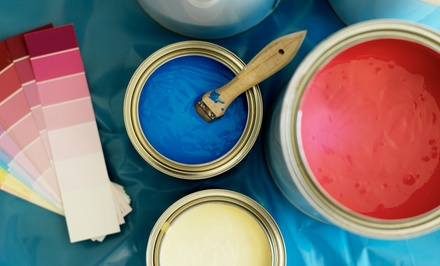 $289 for a House Painter for a Day from Priority Plus Painters ($480 Value)