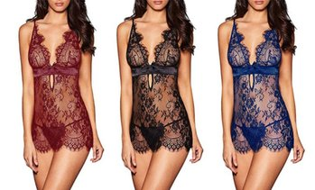 Lace Babydoll with Brief