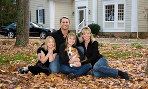 "Caston Studio: $29 for a 60-Minute Holiday Family-Portrait Shoot with 11""x14"" Print at Caston Studio ($325 Value)"