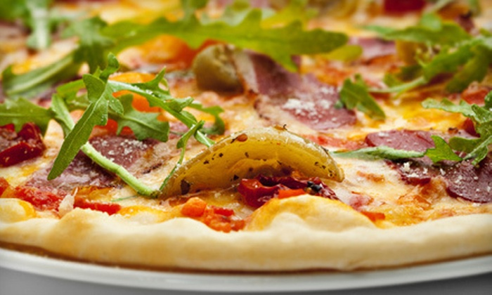 Revolution Bakery - Santa Fe: Gluten-Free Pizzas and Drinks for Two or $10 for $20 Worth of Breakfast Food at Revolution Bakery in Santa Fe