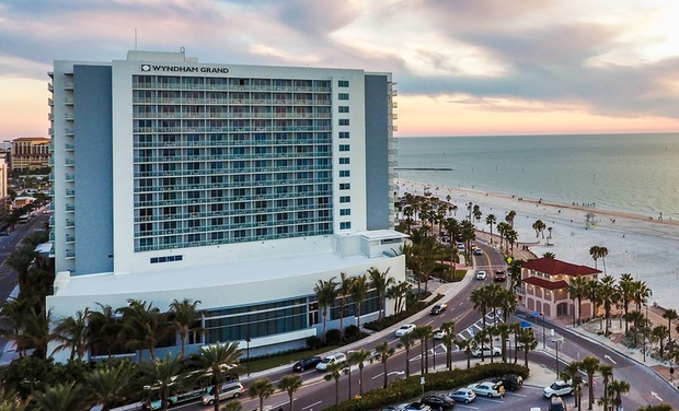 Wyndham Grand Clearwater Beach Fl Stay At The 4 Star