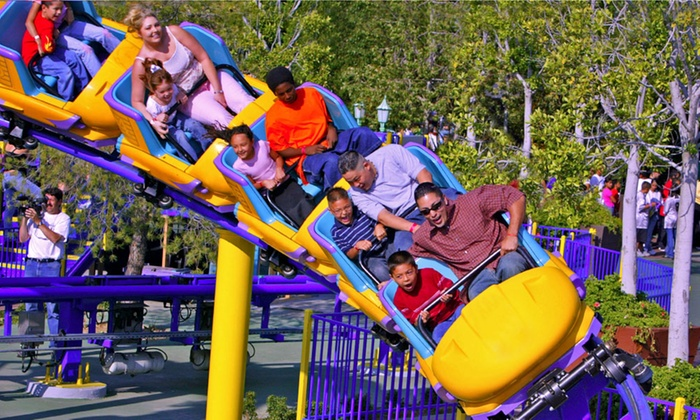 Castle Park- Riverside - Riverside: $14 for Unlimited Rides, Mini Golf, and Water Park at Castle Park- Riverside ($19.99 Value)