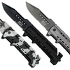 Stainless Steel Assisted-Open Rescue Knives