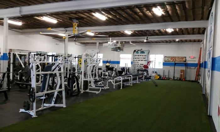 Siege Athletics - Mineola: Five Boot-Camp Classes at Siege Athletics (65% Off)